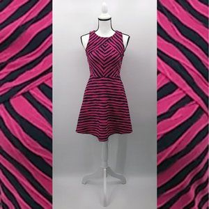 Xhilaration Blue And Pink Dress Size M